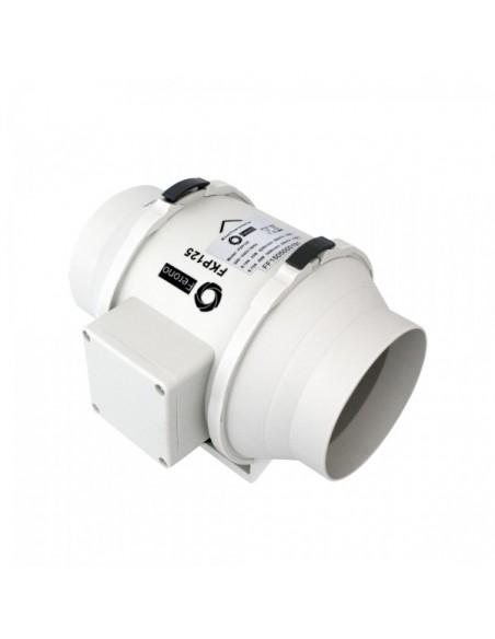 Wentylator kanałowy plastikowy FKP125