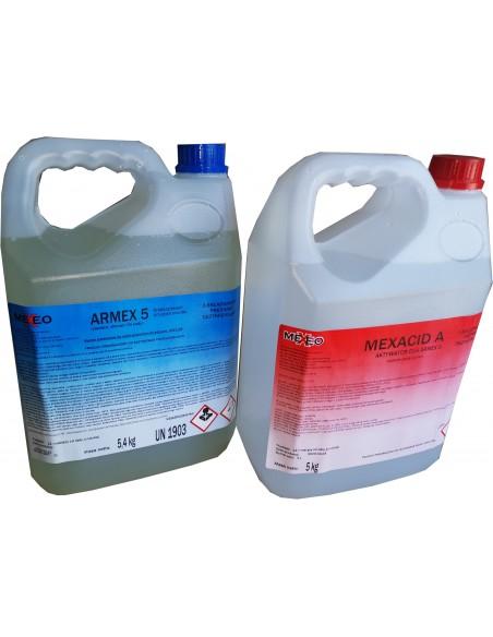 Preparat do dezynfekcji powietrza Armex 5 + Mexacid A 5kg